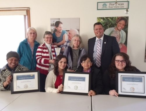 Franciscan Ever There Care Leader in Excellence Award